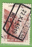 MiNr.E255 O Belgien Eisenbahnpaketmarken - 1942-1951