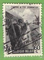 MiNr.E258 O Belgien Eisenbahnpaketmarken - 1942-1951