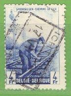 MiNr.E265 O Belgien Eisenbahnpaketmarken - 1942-1951