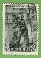 MiNr.E273 O Belgien Eisenbahnpaketmarken - 1942-1951