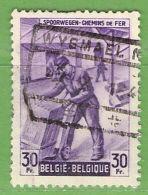 MiNr.E274 O Belgien Eisenbahnpaketmarken - 1942-1951