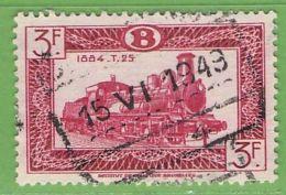 MiNr.E281 O Belgien Eisenbahnpaketmarken - 1942-1951