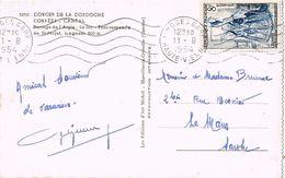 25396. Postal LIMOGES (haute Vienne) 1954. Pont Suspendu. Barrage L'Aigle - Francia