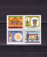 Guyana, 1984, Teachers Association, Block Of 4 - Guyane (1966-...)