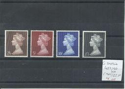 GRAN BRETAÑA YVERT 487/90  MNH  ** - 1952-.... (Elizabeth II)