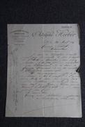 Lettre Ancienne - CETTE à MARSEILLAN - Adolphe HERBER, Consignation De Vins , Rouges Et Blancs - Francia