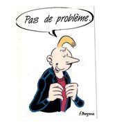 """B D  F. Margerin  """"Pas De Problème """" Manu 3  1991 Lacinq/Jingle/sgcc  TBE - Bandes Dessinées"""