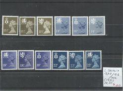 GRAN BRETAÑA YVERT 980/91  MNH  ** - 1952-.... (Elizabeth II)