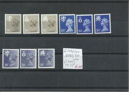 GRAN BRETAÑA YVERT 1082/90  MNH  ** - 1952-.... (Elizabeth II)