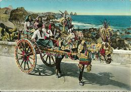 Carretto Siciliano, Charrette Sicilienne, Sicilian Cart - Costumes