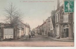 Senan-La Rue Principale-Route D'Aillant Sur Tholon.Coll.Karl Guillot. - Autres Communes