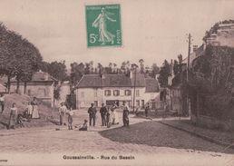 1330A  GOUSSAINVILLE ?????  1913   ECRITE - France