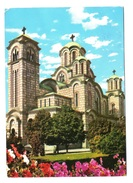 BEOGRAD - TASMAJDAN - LA CHIESA DI S. MARCO - VIAGGIATA 1973 - (1980) - Serbia