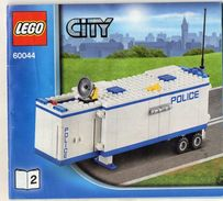 CATALOGUE LEGO City 60044-2 - Catalogs