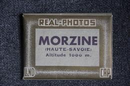 Carnet Complet De 10 Photographies De MORZINE ( REAL PHOTO) - Lieux