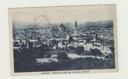 FIRENZE - PANORAMA VISTO DAL GIARDINO DI BOBOLI - VIAGGIATA 1927 - ANNULLO ITALIANI VISITATE LA TRIPOLITANIA - POSTCARD - Firenze