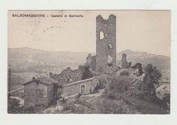 SALSOMAGGIORE  (PARMA) - CASTELLO DI GALLINELLA - VIAGGIATA 1909 - ITALY POSTCARD - Parma
