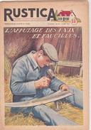 RUSTICA L' Affutage Des Faux Et Faucilles Principales Maladies Des Cidres Pressoir Pommes (4 Scans) - Natura