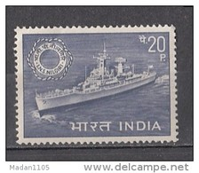 INDIA, 1968,  I.N.S. Nilgiri, Ship, Transport, Navy Day,   MNH, (**) - Ongebruikt