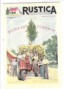 RUSTICA La Fête Des Moissons Tradition Tracteur Agriculture Un Séchoir à Maïs (3 Scans) - Nature