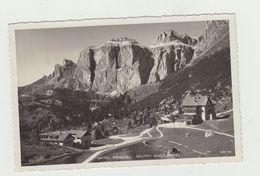 PASSO PORDOI (CANAZEI - GRUPPO SELLA) HOTEL PORDOI VIAGGIATA 1938 - ANNULLO ALBERGO COL DI LANA - POSTCARD - Trento