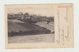 MANZIANA( LAZIO- ROMA) PANORAMA VIAGGIATA 1902 - POSTCARD - Roma