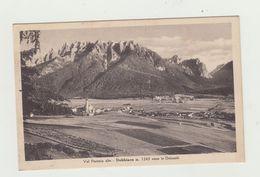 DOBBIACO - VAL PUSTERIA ALTA - PANORAMA VIAGGIATA VERSO ROMA - POSTCARD - Bolzano