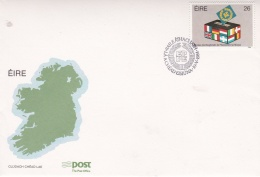 Ireland FDC 1984 European Parlement (DD5-24) - FDC