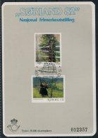 1982 Norway Souvenir Sheet SORLAND '82 Philatelic Exhibition Kristiansand Sailing Ship - Blocks & Sheetlets