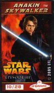 Magnets Magnet Cinema Star Wars Le Gaulois 10/28 Anakin Sky Walker - Non Classés