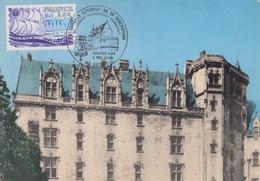 Carte  Maximum  1er  Jour    Congrés  Sociétés  Philatéliques    NANTES   1979 - Cartes-Maximum