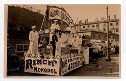 - FRANCE (69) - CPA PHOTO Vierge LYON - Char LA GRATINEE DES ARCHERS (Brasserie) - RINCIR MONOPOL (belle Animation) - - Autres