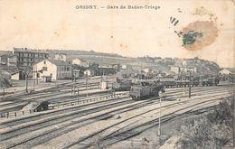 Grigny Gare Avec Train Canton Givors - Grigny