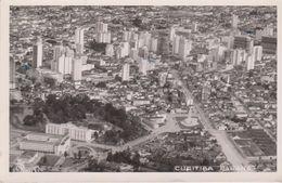 CPSM 9X14 . BRESIL . CURITIBA . Parana  (Vue Aérienne ) - Curitiba