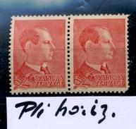 Vignette Degrelle Qui Fut Général SS, Brigade Front De L'Est, Et Leader Politique  Cotait 50EX2= 100 Euros - Commemorative Labels
