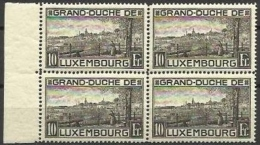 LUXEMBOURG 1923 Nº 141 ** BLOCK - Ungebraucht