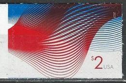 USA. Scott # 4954 MNH. Patriotic Waves. High Value  2015 - United States