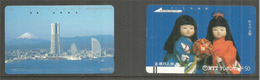 Lot Japanese Telephon Cards (2) . - Japan