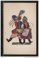POLAND TANCE (Z STRYJENSKA) DESIGN 5 - POLISH DANCES - KRAKOWIAK MINT POSTCARD FOLK NATIONAL COSTUMES Cultures - Danze