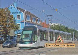 Tramway Citadis Alstom De Strasbourg (ligne A), à Illkirch-Graffenstaden (67) - - Frankreich