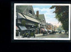 CP  Casino , Bellevue  Avenue , Looking  South   Newport  : Carte écrite - Newport