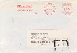 Empreinte  BODET   Cachet  TREMENTINES   Du 17/05/1990 +  FD - EMA (Printer Machine)