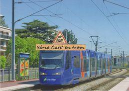 Tramway Avanto Siemens (T4 Transilien), à Villemomble (93) - - Villemomble