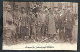 +++ CPA - Prisonniers Français à La Gare D' ETTERBEEK - Armée - Militaria - Guerre   // - Etterbeek