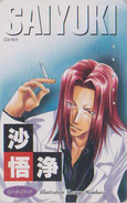 Télécarte Japon / 110-211508 - MANGA - SAIYUKI By KAZUYA MINEKURA - ANIME Japan Phonecard - BD Comics TK - 9063 - BD