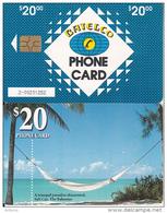 BAHAMAS ISL.(chip) - Salt Cay(BAH C23b), Medium Number In Box,  Chip GEM6b, Used - Bahamas