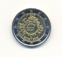 BELGIQUE Commémorative: 2€ (déjà 10 Ans Euro) 2002-2012 (TTB) - Belgium