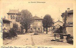 15 - Glénat - L'Eglise Et La Place (animée) - Altri Comuni