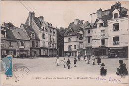 Seine  Maritime :  DIEPPE : Place Du  Moulin  A  Vent - Dieppe