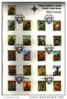 REPUBLIC OF SOUTH AFRICA, 1977, Definitives Protea's On Card, First Day Cover Nr.3.1 - South Africa (1961-...)